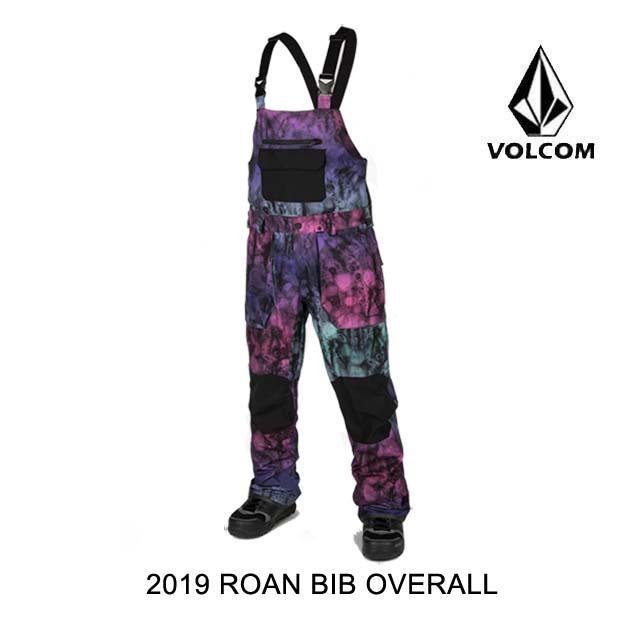 2019 VOLCOM ボルコム パンツROAN BIB OVERALL MIX