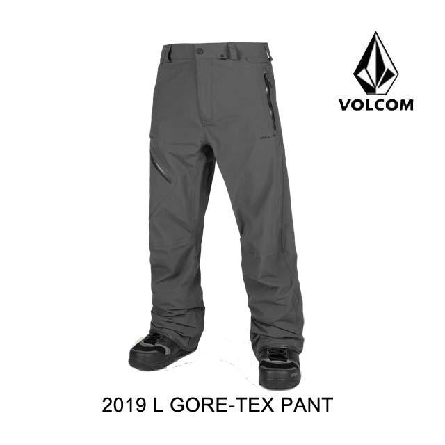 2019 VOLCOM ボルコム パンツ L GORE-TEX PANT VINTAGE BLACK