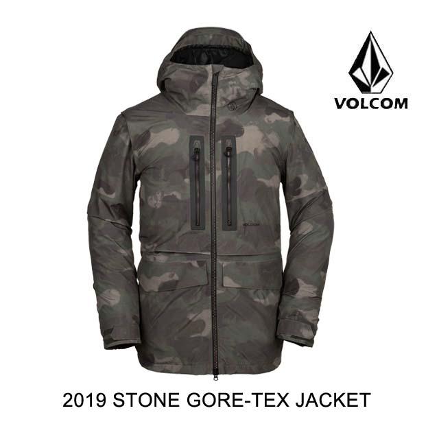 ボルコム VOLCOM 2019 ジャケット CAMOUFLAGE JACKET GORE TEX