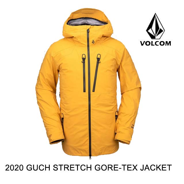 2020 VOLCOM ボルコム ジャケット GUCH STRETCH GORE JACKET RESIN GOLD