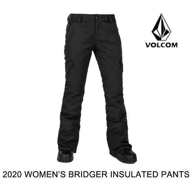 2020 VOLCOM ボルコム パンツ WOMEN'S BRIDGER INS PANT BLACK