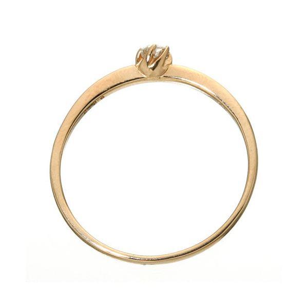 今夜20時 4H全品P5倍 K18 ダイヤリング 指輪 シューリング ピンクゴールド 17号QdrCtshx