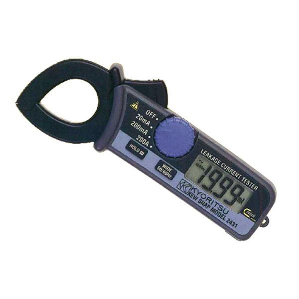 共立電気計器 キュースナップ・漏れ電流・負荷電流測定用クランプメータ 2431【代引不可】