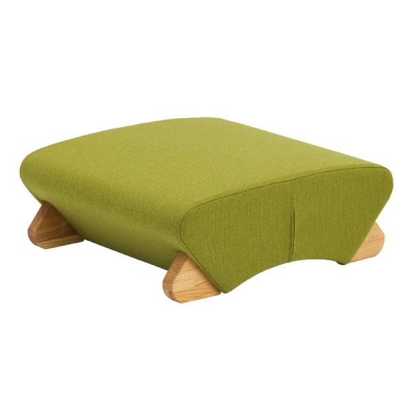 <title>納得の機能 デザインフロアチェア 座椅子 デザイン座椅子 新作からSALEアイテム等お得な商品 満載 脚:クリア 布:グリーン Mona.Dee モナディー WAS-F</title>