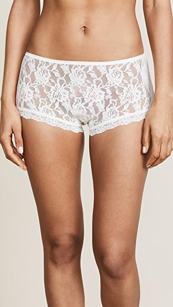 Signature Lace Betty Briefs レディース