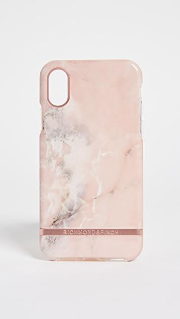 Pink Marble iPhone Case レディース