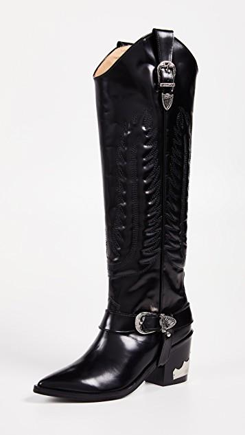 Tall Buckled Boots レディース