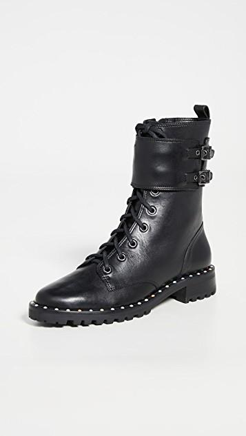 Bessie Lace Up Boots レディース