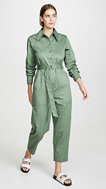 Cotton Jumpsuit レディース