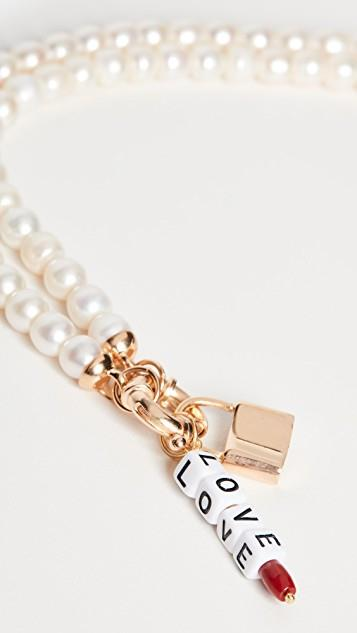 Freja Padlock Necklace レディース