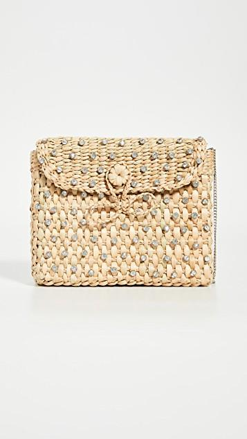 Beach Bling Box Clutch レディース