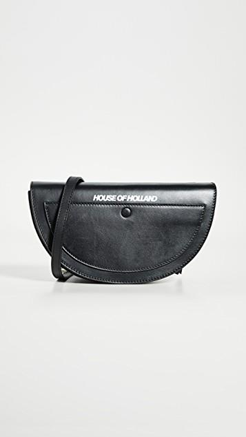 Half Moon Crossbody Bag レディース