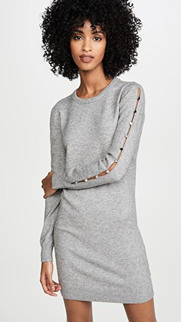 Button Or Nothing Sweater Dress レディース