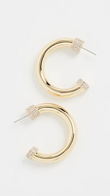 The Pave Tip Tube Hoops レディース