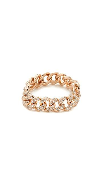 18k Gold Essential Link Ring レディース