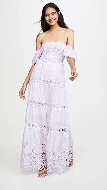 Napoli long dress - SL レディース