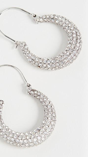 The Pave Martina Hoops レディース