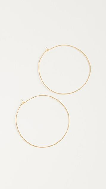 Capri Hoop Earrings レディース