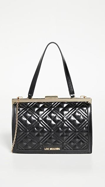 Quilted Frame Bag レディース