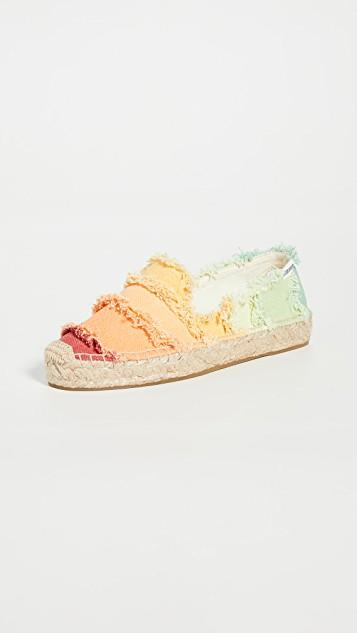Ombre Smoking Slippers レディース