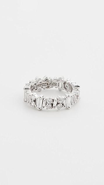 18k White Gold Fireworks Eternity Band レディース