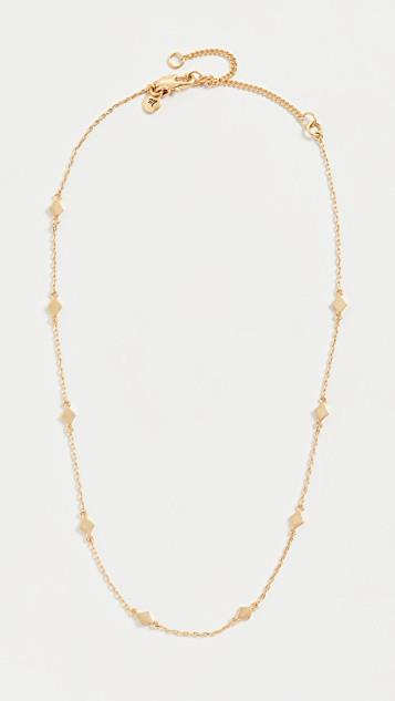 Diamond Shape Layer Necklace レディース