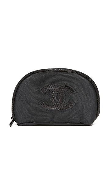 What Goes Around Comes Around レディース 小物 財布 ワットゴーズアラウンドカムズアラウンド Chanel Sequins Cosmetic Bag (Previously Owned) レディース