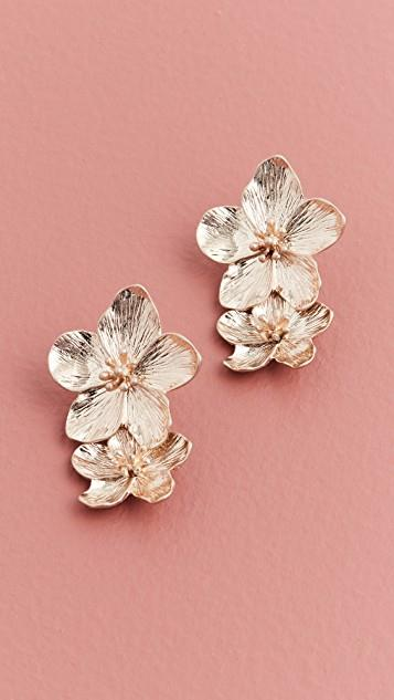 Wild Flowers Earrings レディース