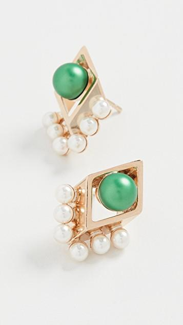 Small Rhombus Earrings レディース