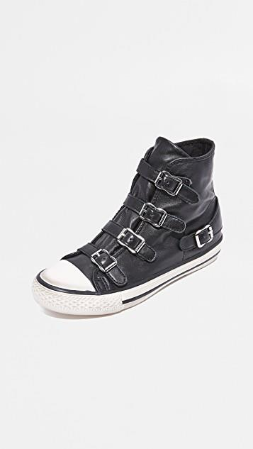 Virgin Buckled High Top Sneakers レディース