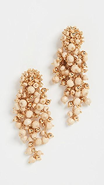 Beaded Cascade Drop Earrings レディース