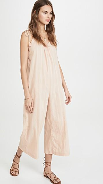 Tie Strap Cover Up Jumpsuit レディース