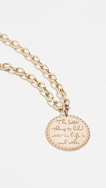 14k Gold The Best Thing Necklace レディース