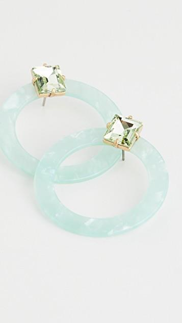 Afton Lucite Earrings レディース