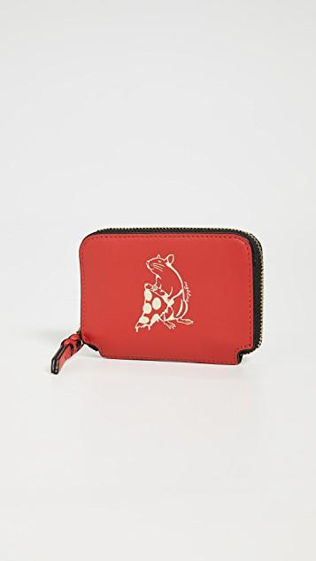 Pizza Rat Coin Pouch レディース