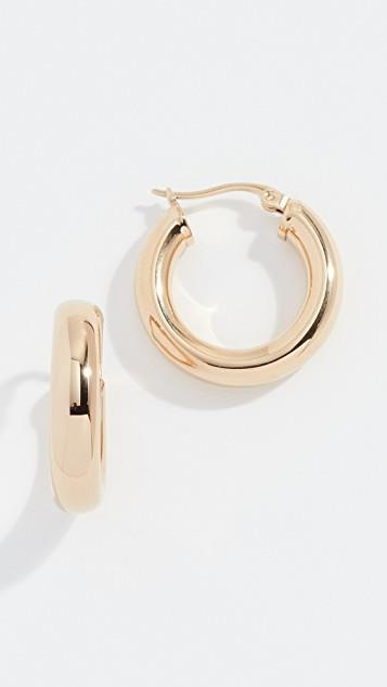 Dominique Hoop Earrings レディース