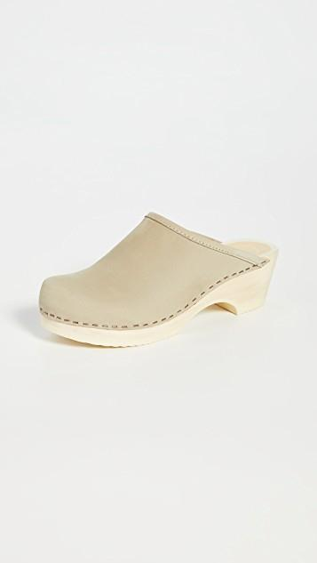 Valley Low Bast Clogs レディース