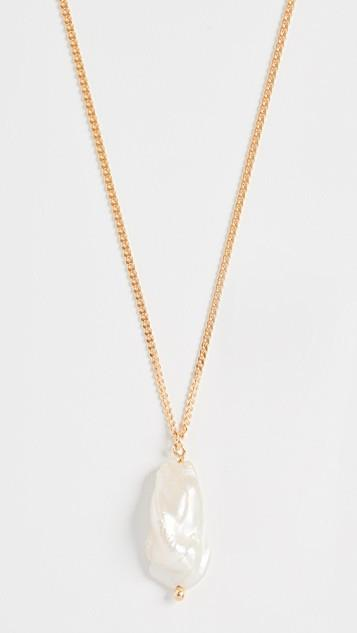 Pearl Swan Necklace レディース