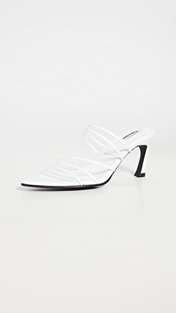 Five Strings Pointed Sandals レディース