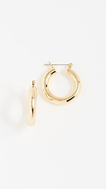 Baby Amalfi Tube Hoop Earrings レディース
