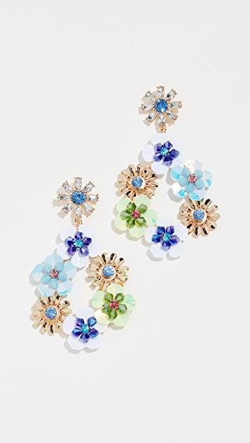 Floral Earrings レディース