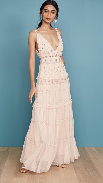 Neve Embellished Gown レディース