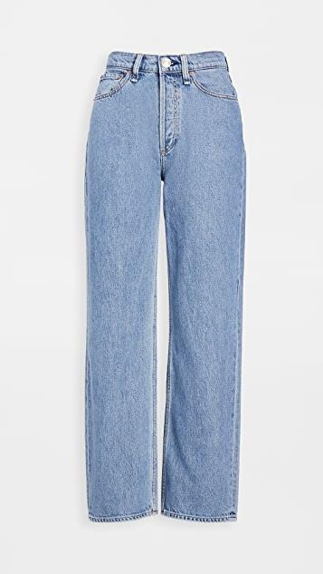 Ruth Super High-Rise Straight Jeans レディース
