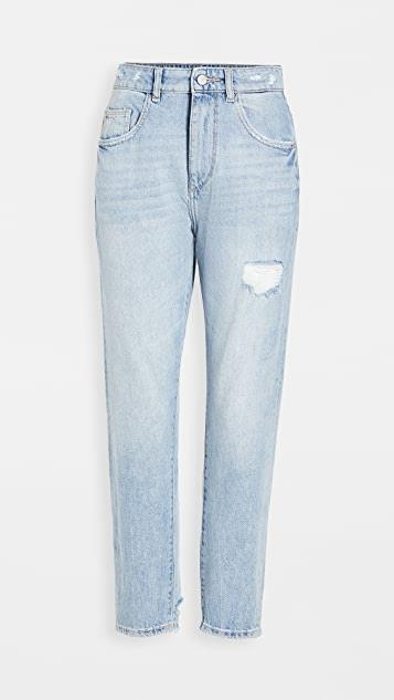 Susie Tapered Slim Jeans レディース