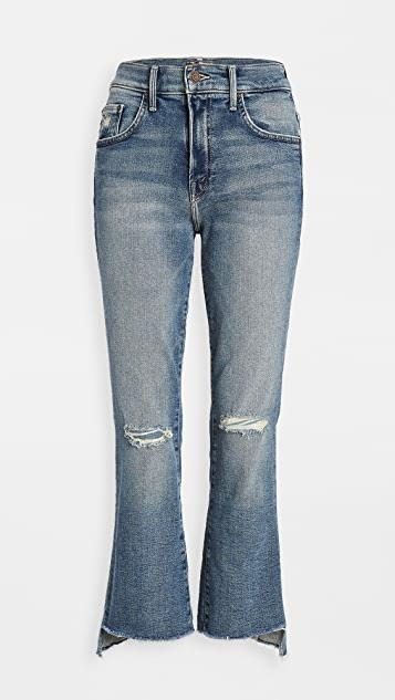 The Insider Crop Step Fray Jeans レディース