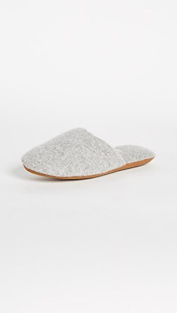 Cashmere Slide Slippers レディース