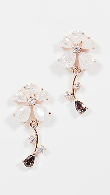 Gabriella Daisy Drop Earrings レディース
