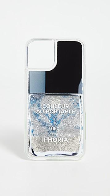 Tie Dye Nail Polish iPhone Case レディース