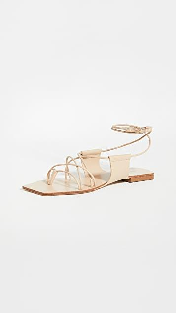 Maria Lace Up Sandals レディース