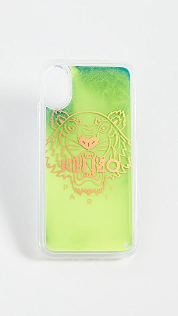 Tiger Head Sand iPhone XS / X Case レディース